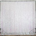 20ft Big Payette Sequin Curtain Panel Backdrop - Rainbow