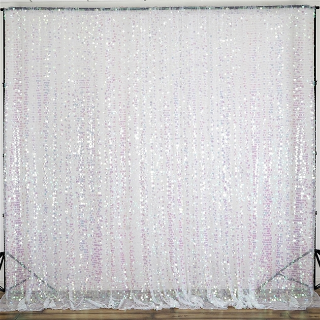 20ft Big Payette Sequin Curtain Panel Backdrop