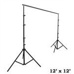 12ft x12ft Heavy Duty Pipe and Drape Kit Wedding Photography Backdrop Stand
