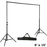 Heavy Duty Pipe and Drape Kit Wedding Photography Backdrop Stand 8ft X 10ft