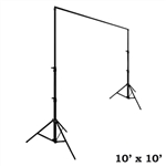 Heavy Duty Pipe and Drape Kit Wedding Photography Backdrop Stand 10ft X 10ft