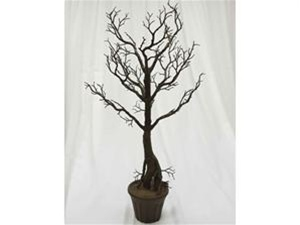 "Shop 36"" Vogue Potted Manzanita Centerpiece Tree – Natural for Events 