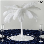 "12/Set 16"" Eiffel Tower Vases (White)"