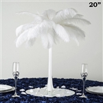 "12/Set 20"" Eiffel Tower Vases (White)"
