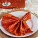 5/pk Napkins (Pintuck) - Orange