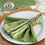 5/pk Napkins (Pintuck) - Apple Green