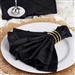 5/pk Napkins (Pintuck) - Black