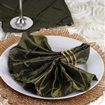 5/pk Napkins (Pintuck) - Willow Green