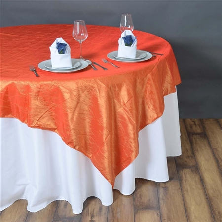 "90"" Overlay (Crinkle) - Orange"