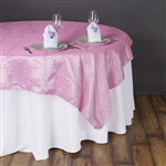 "90"" Overlay (Crinkle) - PINK"