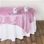 "60"" Overlay (Crinkle) - Pink"