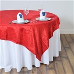 "60"" Overlay (Crinkle) - Red"