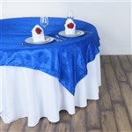 "60"" Overlay (Crinkle) - Royal Blue"