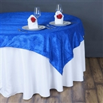 "90"" Overlay (Crinkle) - Royal Blue"