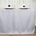 Econoline 6 foot Fitted Tablecloths - Silver
