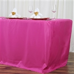 Econoline 8 foot Fitted Tablecloths - Fushia