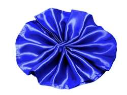 5/pk Satin Napkins - Royal Blue