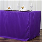 Econoline 8 foot Fitted Tablecloths - Purple