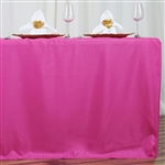 Econoline 6 foot Fitted Tablecloths - Fushia