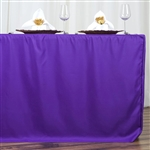 Econoline 6 foot Fitted Tablecloths - Purple
