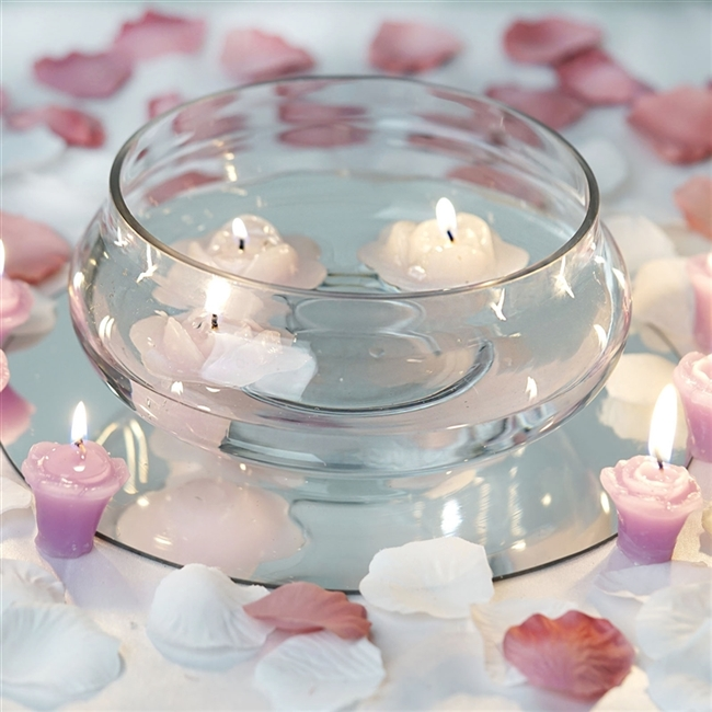 Purchase Floating Candle Bowls Online Bulk Pricing
