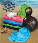 32x64 Silky Velour Beach Towels (assorted colors)