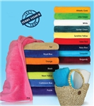 34x70 Terry Velour Beach Towels (assorted colors)