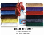 Bleach Resistant Hand Towels by Paris Collection