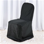 Premium Banquet Chair Cover - Black