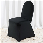 Black Spandex Chair Cover - Discount Wholesale Wedding Chair Covers | RazaTrade