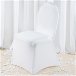 White Spandex Chair Cover - Discount Wholesale Wedding Chair Covers | RazaTrade