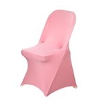Chair Covers for Folding Chair / Spandex - Rose Quartz