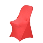 Chair Covers for Folding Chair / Spandex - Coral