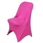 Chair Covers for Folding Chair / Spandex - Fushia