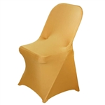 Chair Covers for Folding Chair / Spandex - Gold