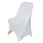 Chair Covers for Folding Chair (Spandex) - Ivory