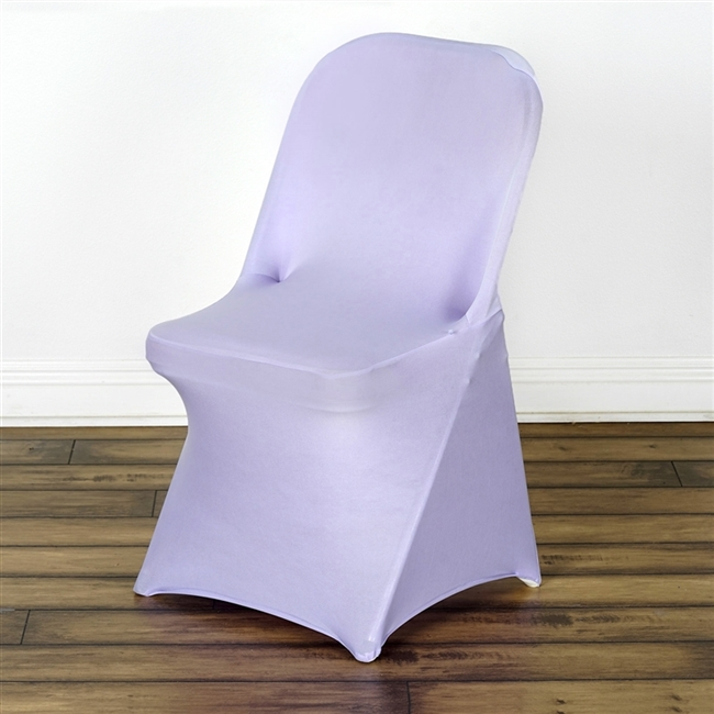 Chair Covers For Folding Chair / Spandex   Lavender