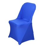 Chair Covers For Folding Chair / Spandex - Royal Blue for Events | RazaTrade