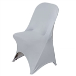 Chair Covers for Folding Chair / Spandex - Silver