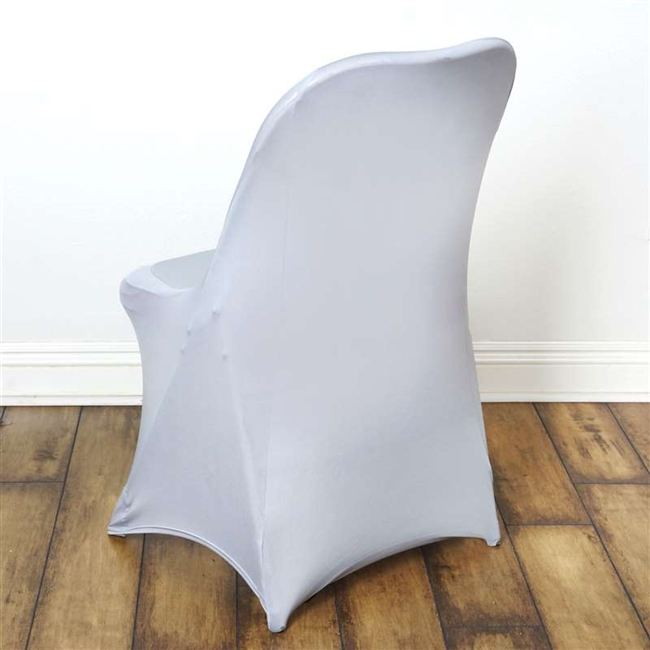 Magnificent Chair Covers For Folding Chair Spandex Silver Gmtry Best Dining Table And Chair Ideas Images Gmtryco