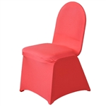 Spandex Chair Cover - Coral Chair Covers At A Low Bulk Price | RazaTrade