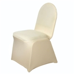 Chair Covers / Spandex - Champagne