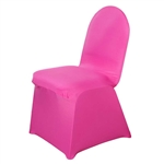 Spandex Chair Cover - Fuchsia Chair Covers At A Low Bulk Price | RazaTrade