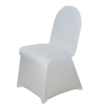 Spandex Chair Cover (Ivory) Chair Covers At A Low Bulk Price | RazaTrade