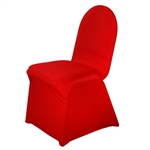 Spandex Chair Cover (Red) Chair Covers At A Low Bulk Price for Events | RazaTrade