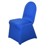 Spandex Chair Cover - Royal Blue Chair Covers At A Low Bulk Price | RazaTrade