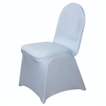 Spandex Chair Cover (Silver) Chair Covers At A Low Bulk Price | RazaTrade
