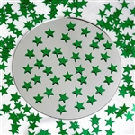 Twinkling Metallic Foil Wedding-Party Star Confetti Sprinkles-300 PCS-Green | RazaTrade