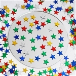 Twinkling Metallic Foil Wedding-Party Star Confetti Sprinkles-300 PCS-Assorted