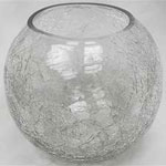 Magnificent Stained-Glass Vase Bowl (Clear) 8/Set